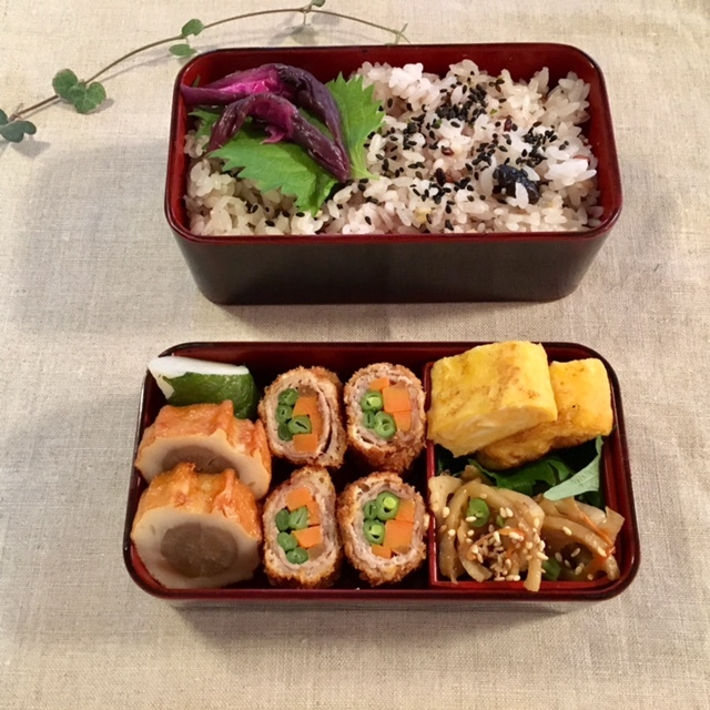 lunch box×2    小田原のお土産を♪_a0165160_16274806.jpg