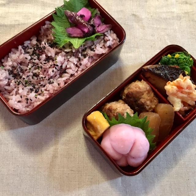 lunch box×2    小田原のお土産を♪_a0165160_16413209.jpg