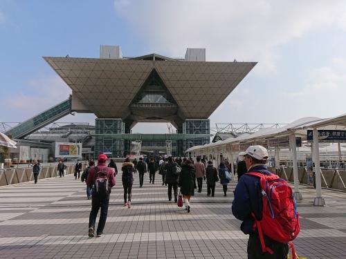 東京マラソン ナンバーカード引換 ボランティアしてきました_c0100865_07272277.jpg