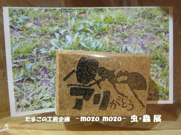 たまごの工房企画 -mozo mozo- 虫・蟲 展 その4_e0134502_15460827.jpg