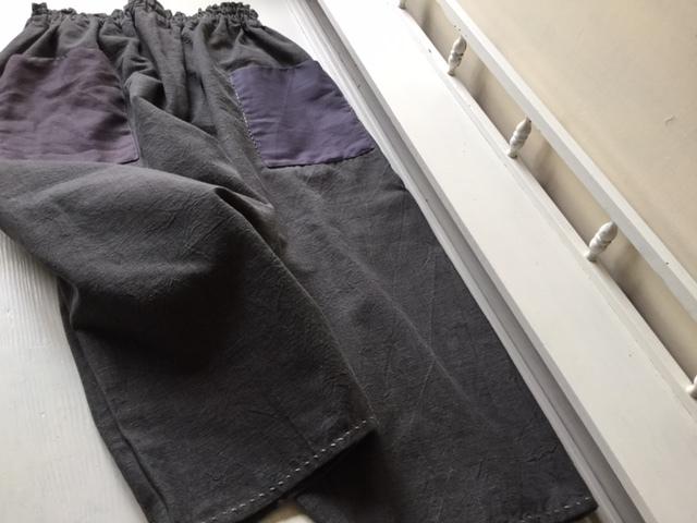 スミクロの農民服&もんぺ  早川ユミさん_b0207631_12543551.jpg