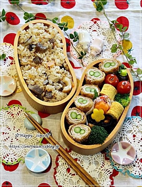 アスパラの肉巻きフライ弁当と今週の作りおき♪_f0348032_17491386.jpg