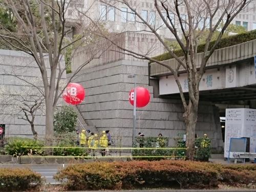東京マラソン、手荷物預かりボランティア&観戦_c0100865_21415367.jpg