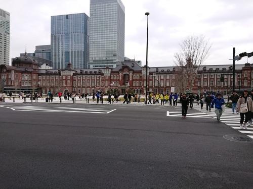 東京マラソン、手荷物預かりボランティア&観戦_c0100865_21444294.jpg
