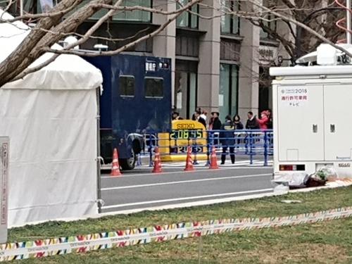 東京マラソン、手荷物預かりボランティア&観戦_c0100865_21451444.jpg