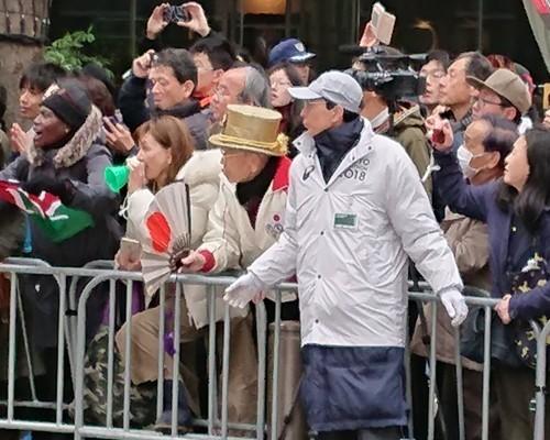東京マラソン、手荷物預かりボランティア&観戦_c0100865_21455710.jpg