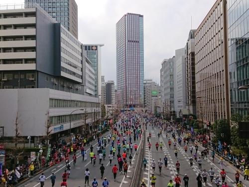 東京マラソン、手荷物預かりボランティア&観戦_c0100865_21473739.jpg