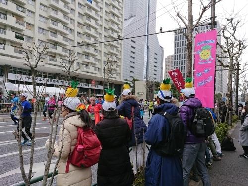 東京マラソン、手荷物預かりボランティア&観戦_c0100865_21481146.jpg