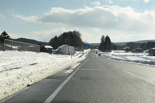 雪道走ってスタンプラリー♪_b0259218_06395106.jpg