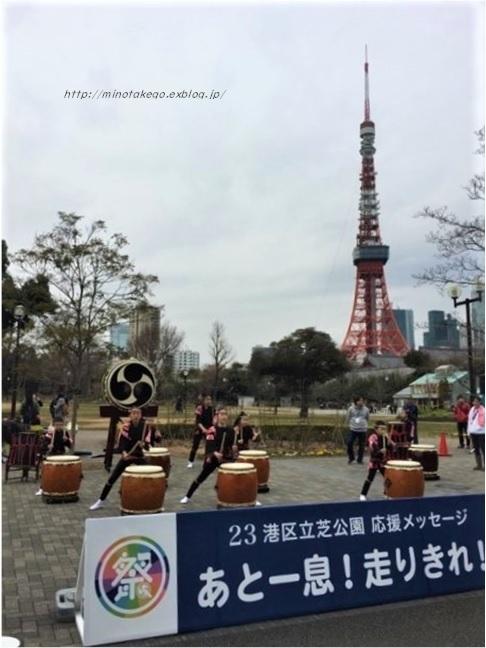 中古住宅の暮らしに感謝 ~東京マラソンと和太鼓~_e0343145_09235845.jpg