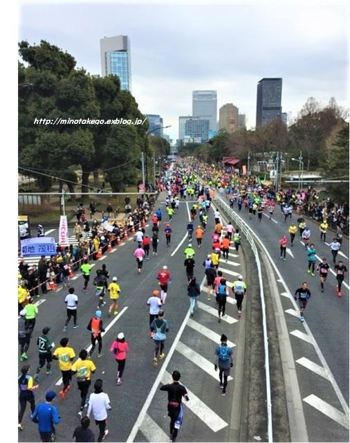 中古住宅の暮らしに感謝 ~東京マラソンと和太鼓~_e0343145_09240786.jpg