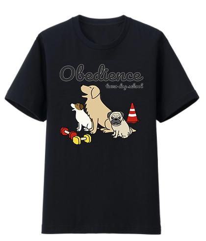 tomo dog school さんのオビディエンスイラスト_c0033759_13555664.jpg