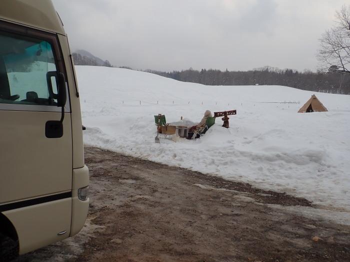牧華 & 一色 雪遊び 2_a0049296_17582867.jpg