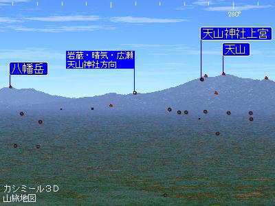 持統天皇と天山3  三つの天山神社は明星山に連なっていた_c0222861_22241168.jpg