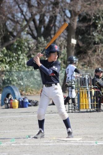 2月18日 AチームOP戦vs南林間ファイターズ_a0336489_21184836.jpg