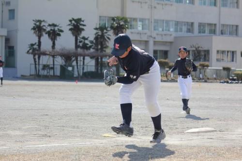 2月18日 AチームOP戦vs南林間ファイターズ_a0336489_21230282.jpg