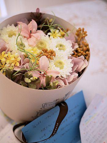 あゆみちゃんFとのパリの思い出とお花たち_c0090198_193538.jpg