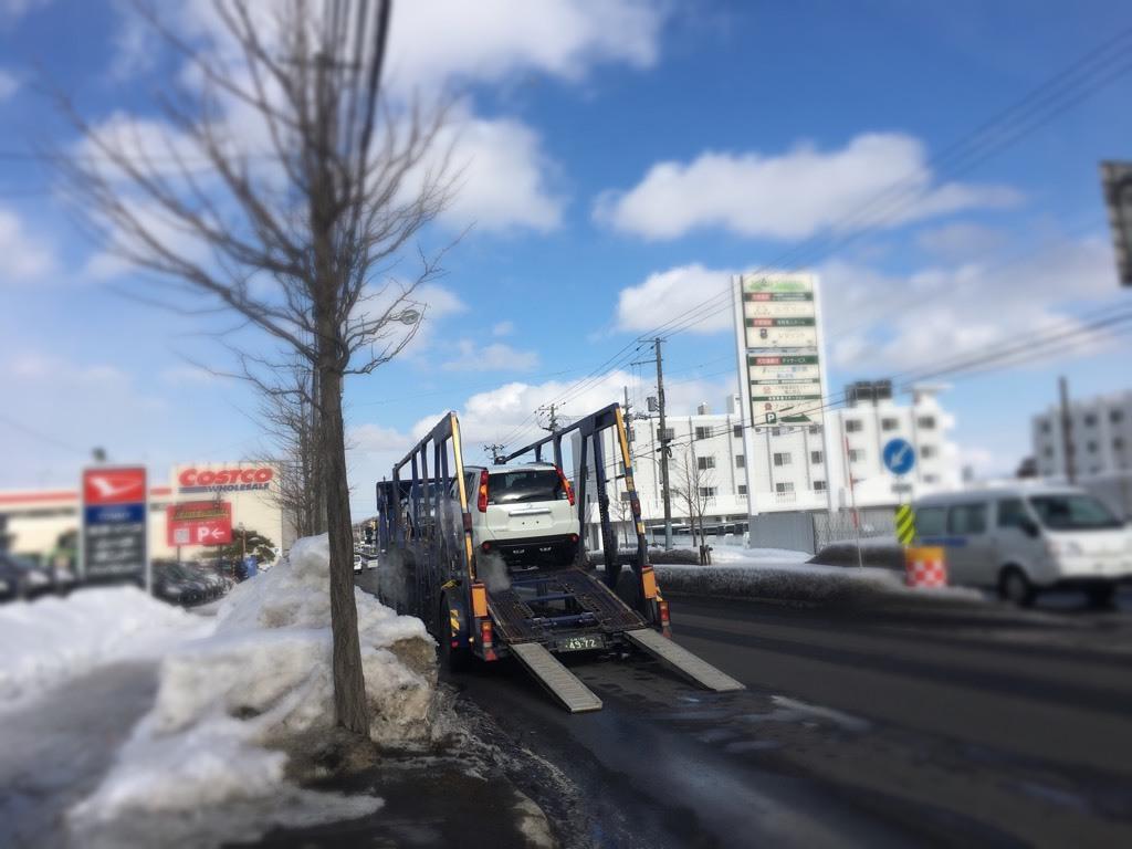 2月28日(水)☆TOMMYアウトレット☆あゆブログ(◍•ᴗ•◍) 福岡県M様のエクストレイルが陸送にて出発しました!!_b0127002_17243360.jpg