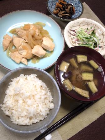 鶏肉の生姜焼き_d0235108_05343685.jpg