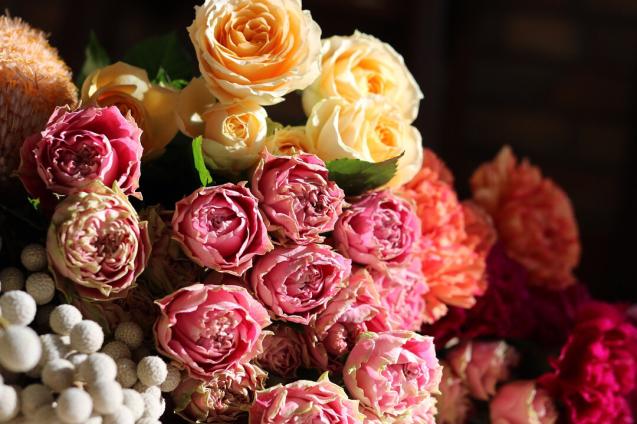 インテリア 吊るしフラワー ドライフラワー 薔薇 おしゃれ美容室 美容室エスポワール さくら市_f0052744_16344632.jpg