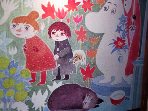 【東京ドーム】ムーミンカフェでムーミンママと一緒にランチ【ラクーア】_b0009849_11104964.jpg