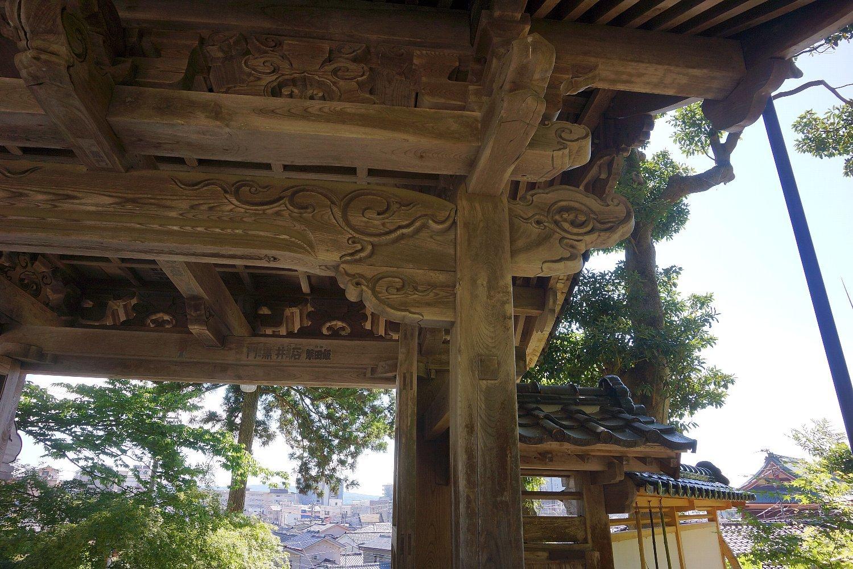 和倉温泉 青林寺の御便殿_c0112559_08561615.jpg