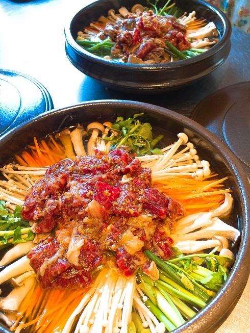 韓国料理教室は「牛肉とキノコたっぷりの鍋料理」_b0060363_00523318.jpg