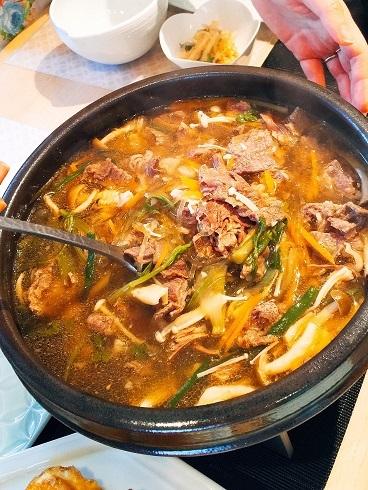 韓国料理教室は「牛肉とキノコたっぷりの鍋料理」_b0060363_00545827.jpg