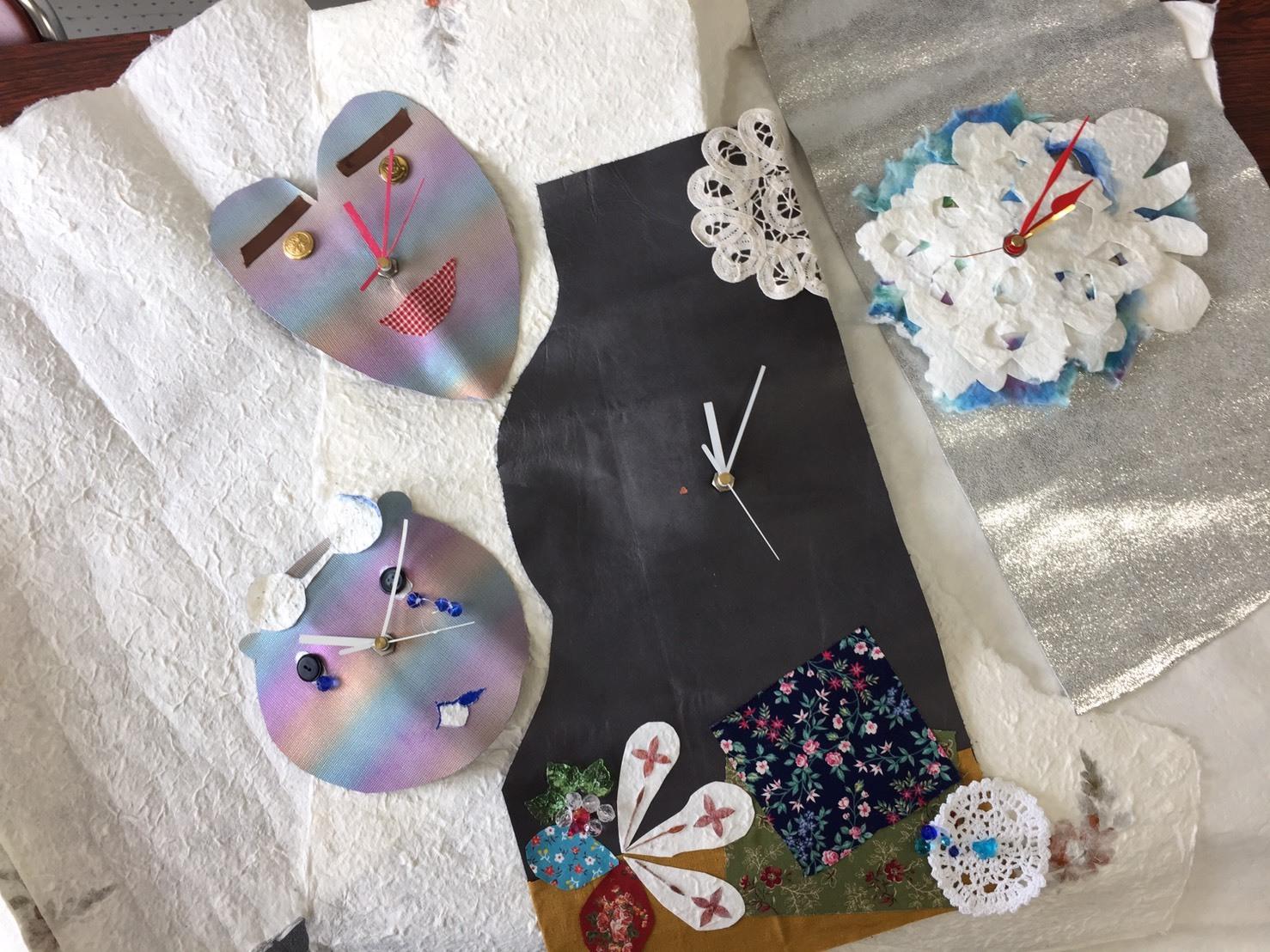 時計を作ったよ~なびなび2月_c0151470_22511563.jpg