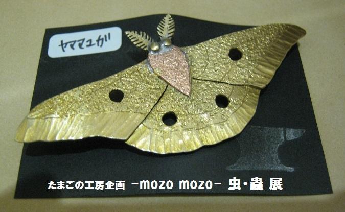 たまごの工房企画 -mozo mozo- 虫・蟲 展 その7_e0134502_16594826.jpg