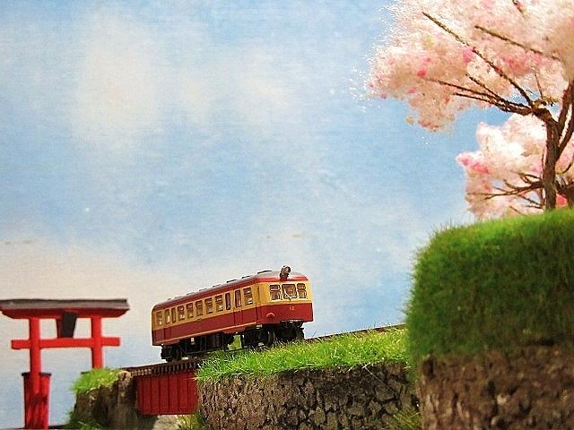 盆ラマレイアウト 江若鉄道風 注文製作品_f0227828_19545338.jpg