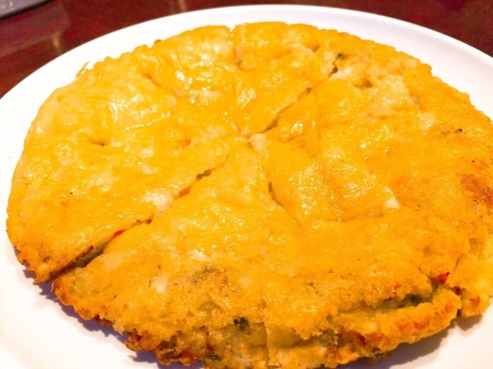 大久保の「土地」でチーズチヂミを!_b0060363_23055827.jpg