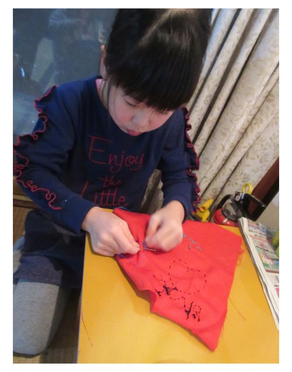 ちくちくちくちくお裁縫・小学生クラス(比良)_f0211514_22450866.jpg