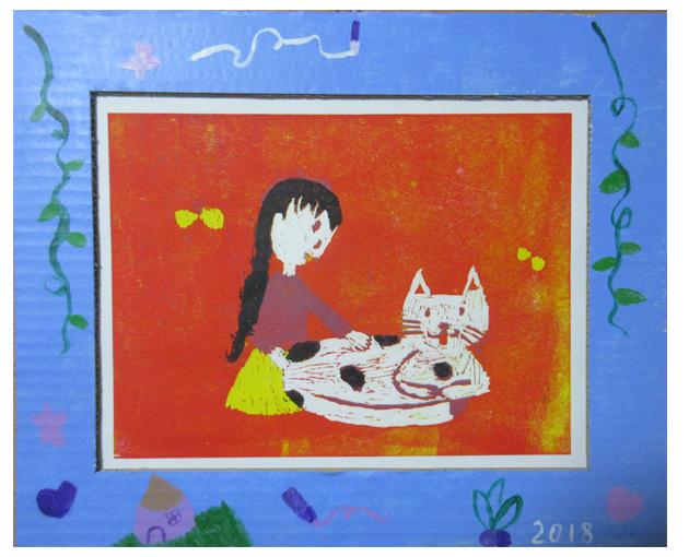 木版画①・小学生クラス(上高野・比良)_f0211514_23552233.jpg
