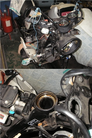 BMW R100RS ステムベアリングの交換_e0218639_10002649.jpg