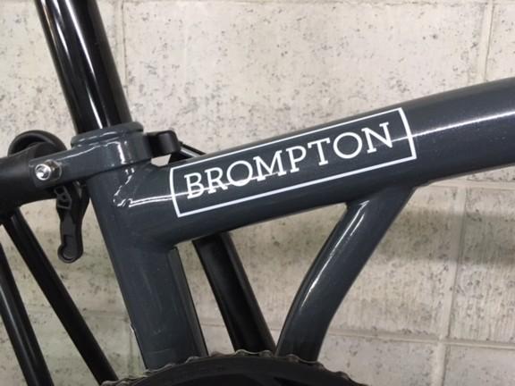 BROMPTON × CHPT3 展示中です_c0359041_17461406.jpg
