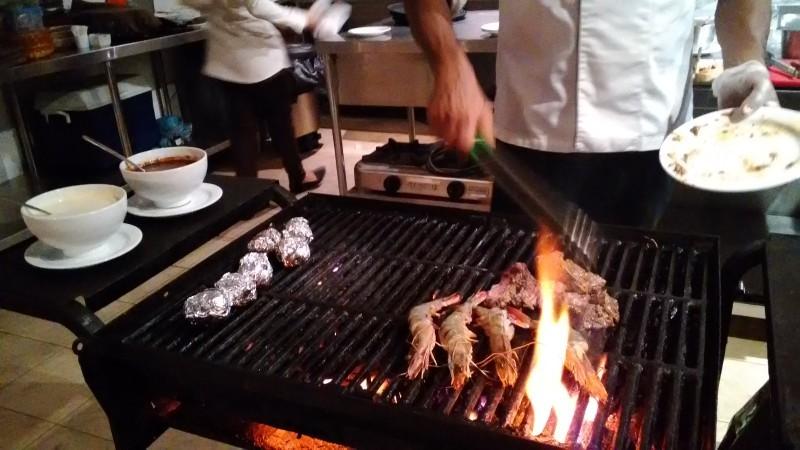 マーレにあるホテル Champa Central Hotelのディナーに行ってきました_a0349326_03231393.jpg