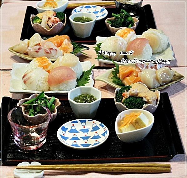 牛肉のオイスター炒め弁当と今夜は手まり寿司♪_f0348032_18235886.jpg