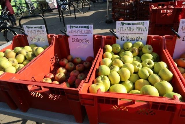 ファーマーズマーケット West Hampstead _f0380234_01034930.jpg