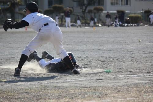 2月18日 AチームOP戦vs南林間ファイターズ_a0336489_00312562.jpg