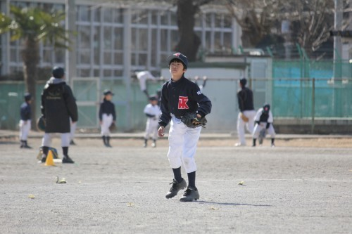 2月18日 AチームOP戦vs南林間ファイターズ_a0336489_00325945.jpg