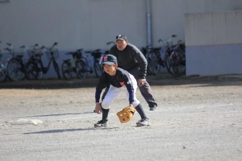 2月18日 AチームOP戦vs南林間ファイターズ_a0336489_00345052.jpg