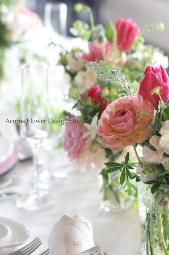 パーティーテーブル装花_f0215262_13382470.jpg