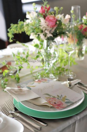 パーティーテーブル装花_f0215262_13412625.jpg