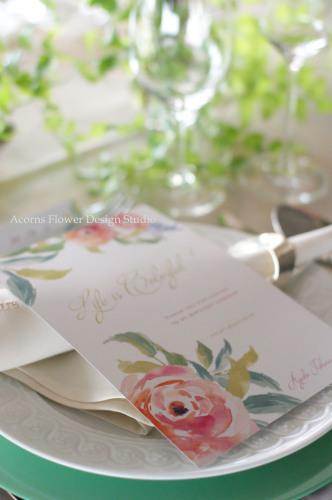 パーティーテーブル装花_f0215262_14020958.jpg