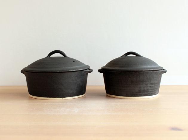 加藤かずみさんのふた付きグラタン皿が入荷しました。_a0026127_16100561.jpg