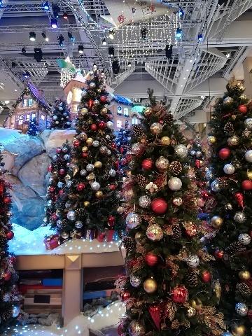 ザ・ランドマークのクリスマスデコレーション@おまけ_b0248150_16170581.jpg
