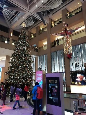 ザ・ランドマークのクリスマスデコレーション@おまけ_b0248150_16184741.jpg