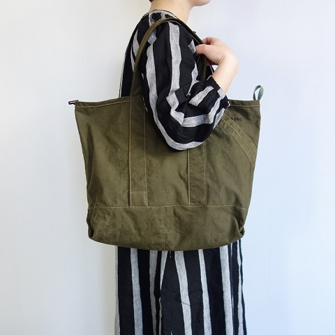 folk original : remake bag (50\'s Czech army)_a0234452_17263238.jpg
