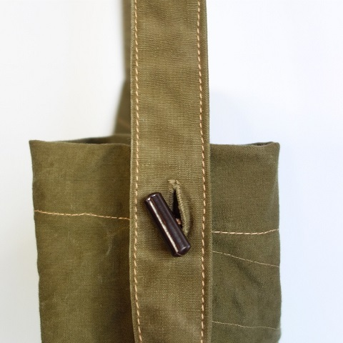 folk original : remake bag (50\'s Czech army)_a0234452_17265209.jpg